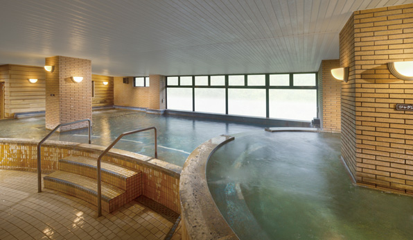 充実の温泉施設